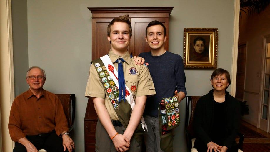 Boy Scouts Two Families