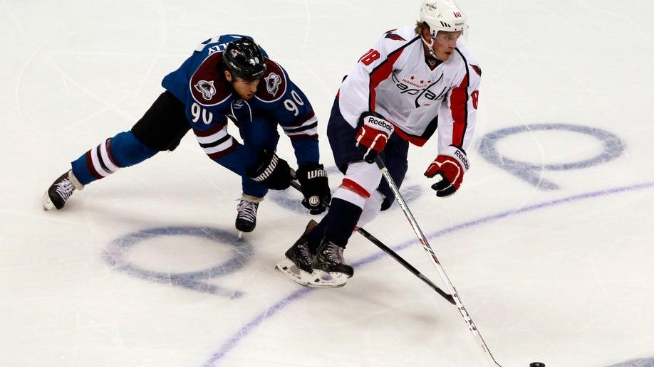 Capitals Avalanche Hockey