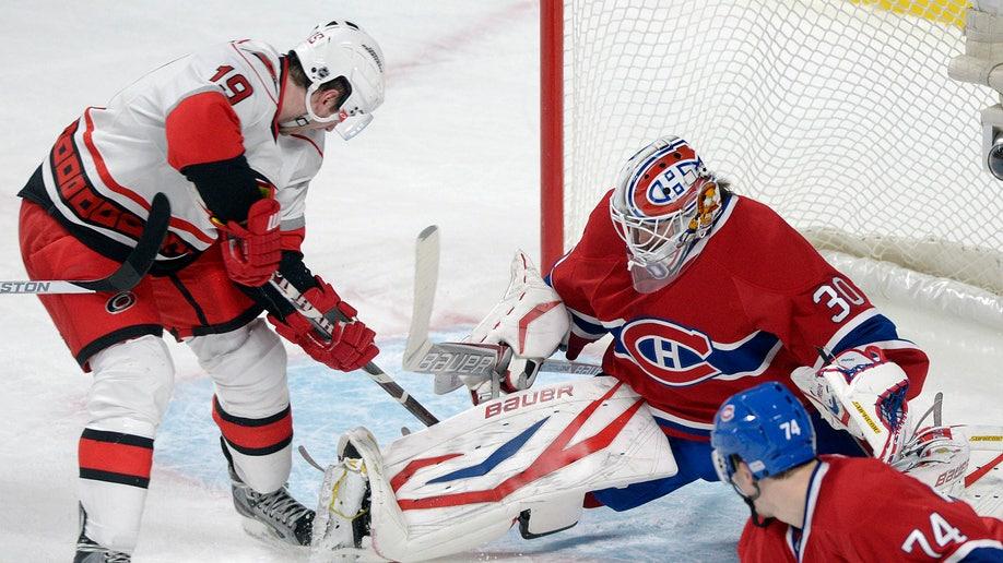 Hurricanes Canadiens Hockey