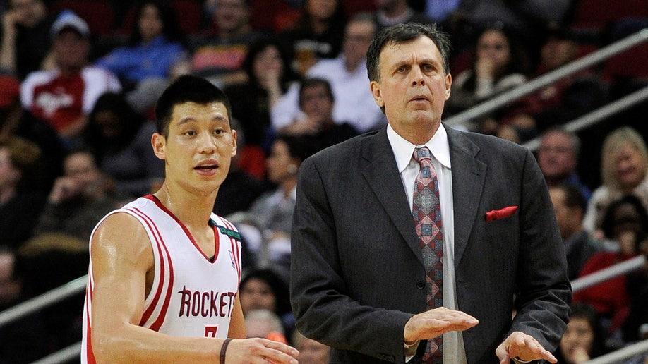 Sputtering Rockets Basketball