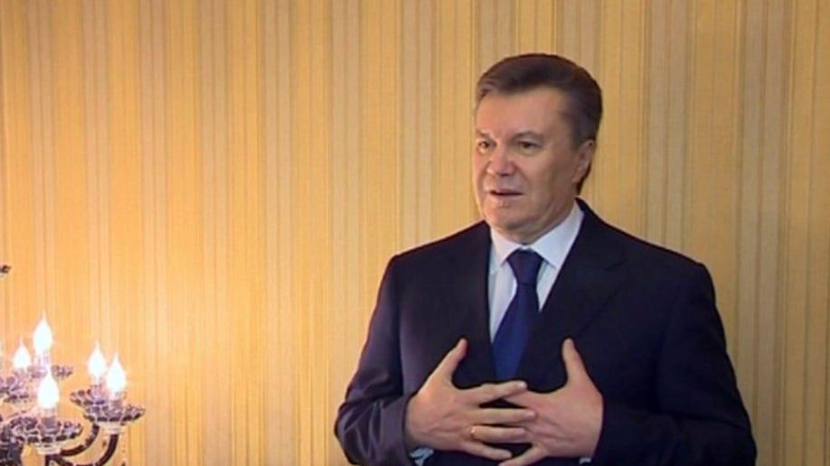 APTOPIX Ukraine Protest Yanukovych