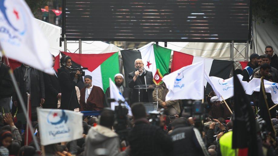 Tunisia Pro Islamist Protest