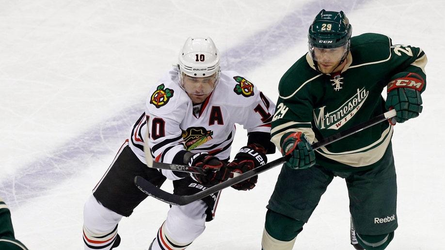 Blackhawks  Sharp Returns Hockey