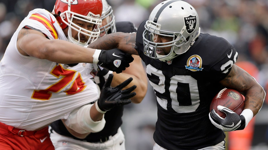 Chiefs Raiders Football
