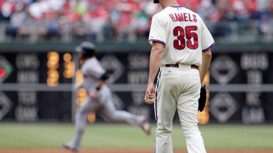 Indians Phillies Baseball
