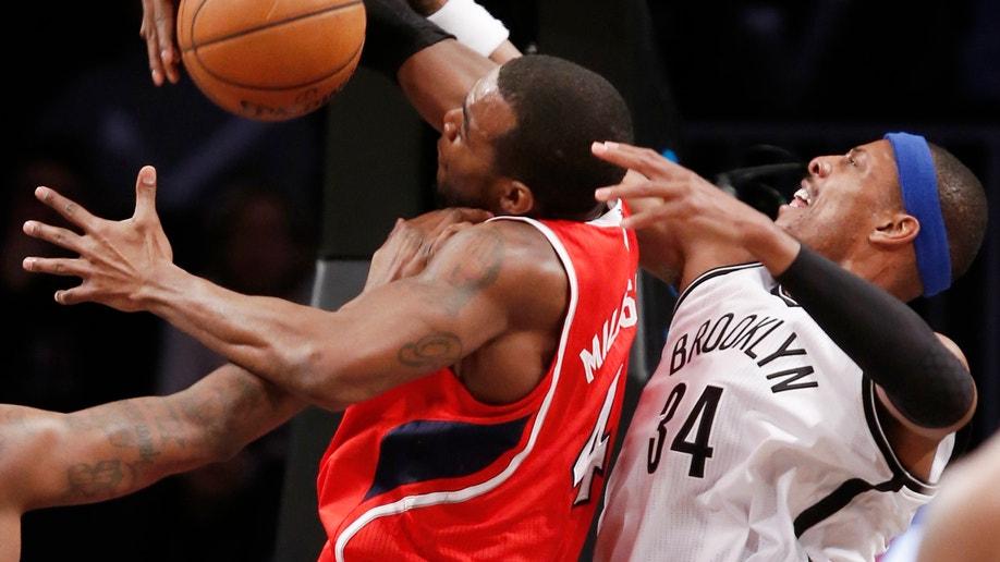 Hawks Nets Basketball