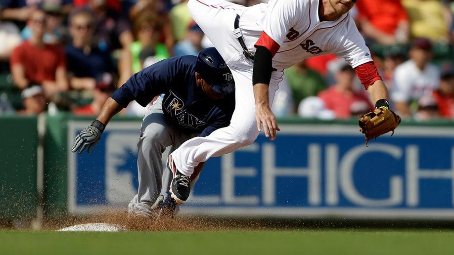 Rays Red Sox Spring Baseball