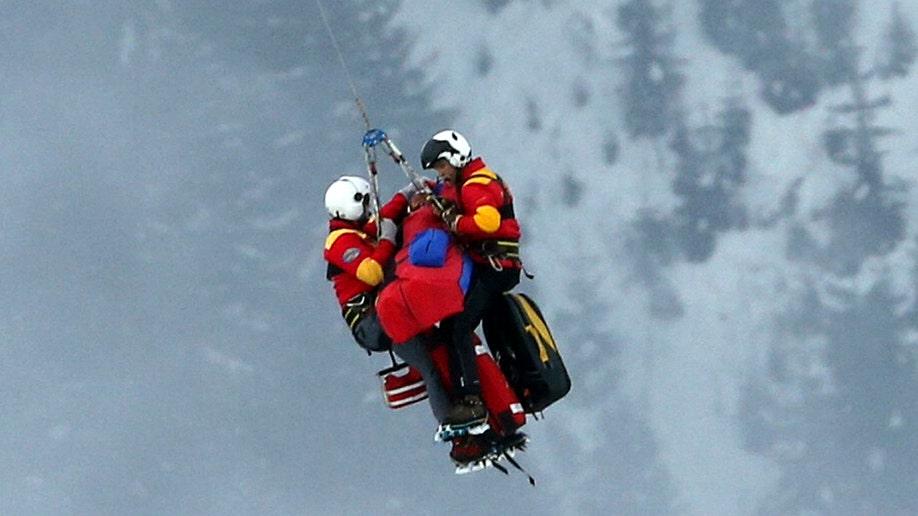 APTOPIX Austria Alpine Skiing Worlds
