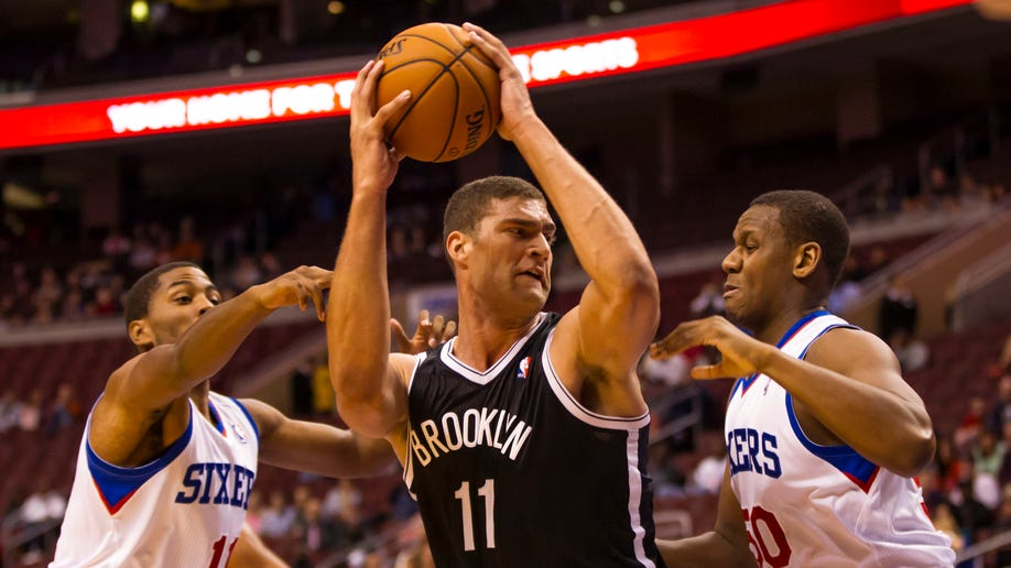 Nets 76ers Basketball