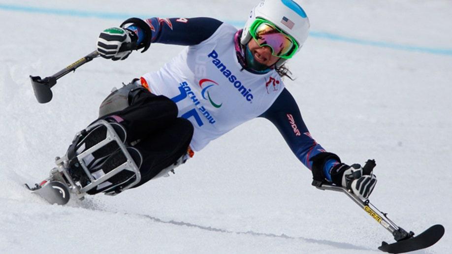 Sochi Paralympics Alpine Skiing Ladies
