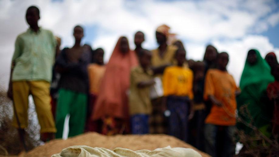 Somalia Famine Deaths