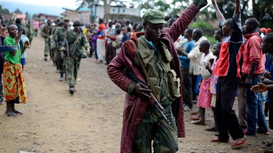 APTOPIX Congo Fighting