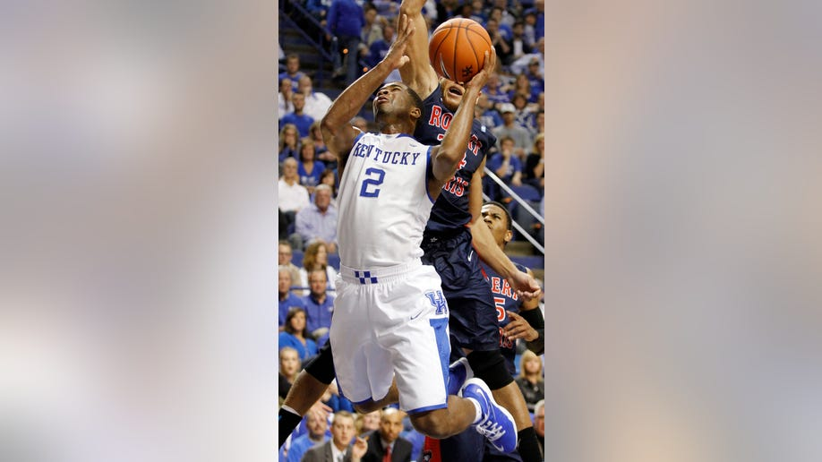 Robert Morris Kentucky Basketball