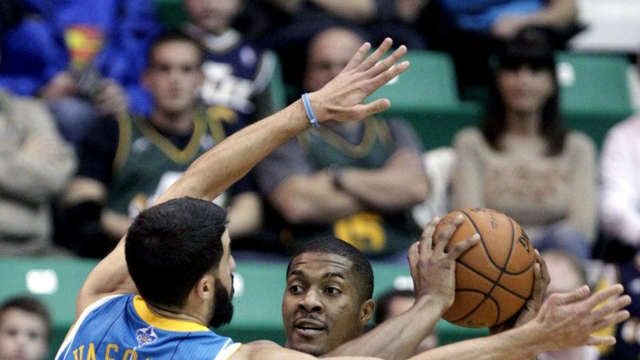 Hornets Jazz Basketball