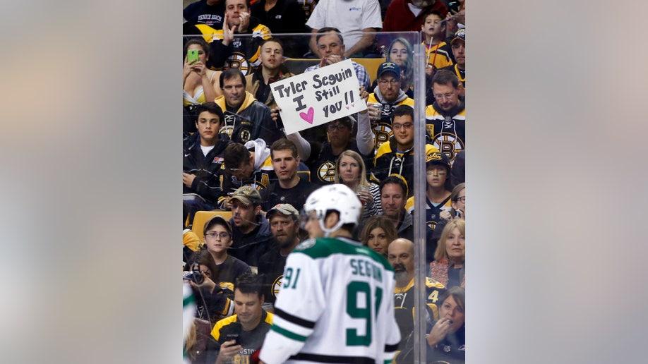 Stars Bruins Hockey