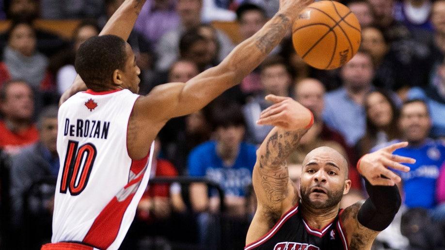 Bulls Raptors Basketball