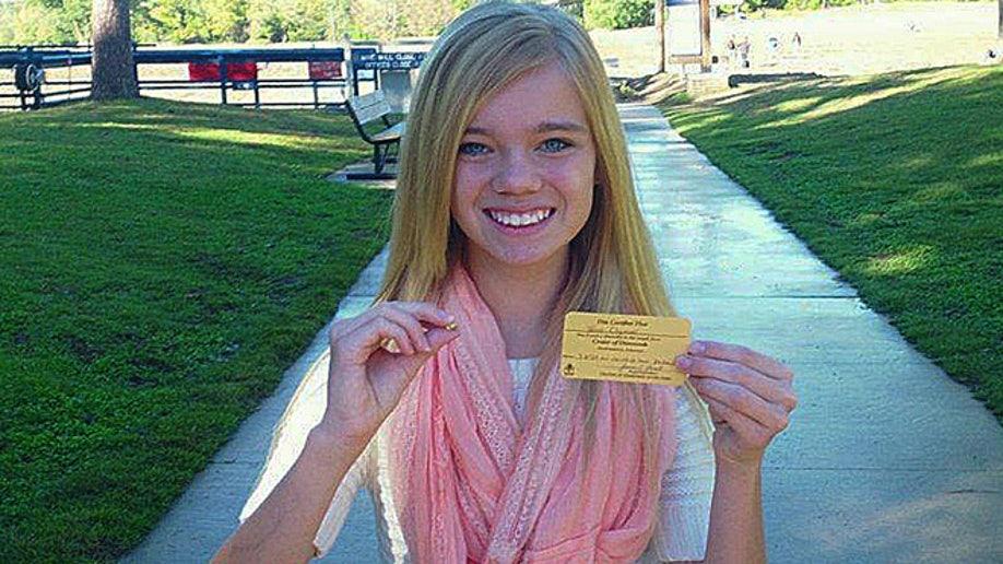 Oklahoma teen finds 3 85-carat diamond at Arkansas state park   Fox News