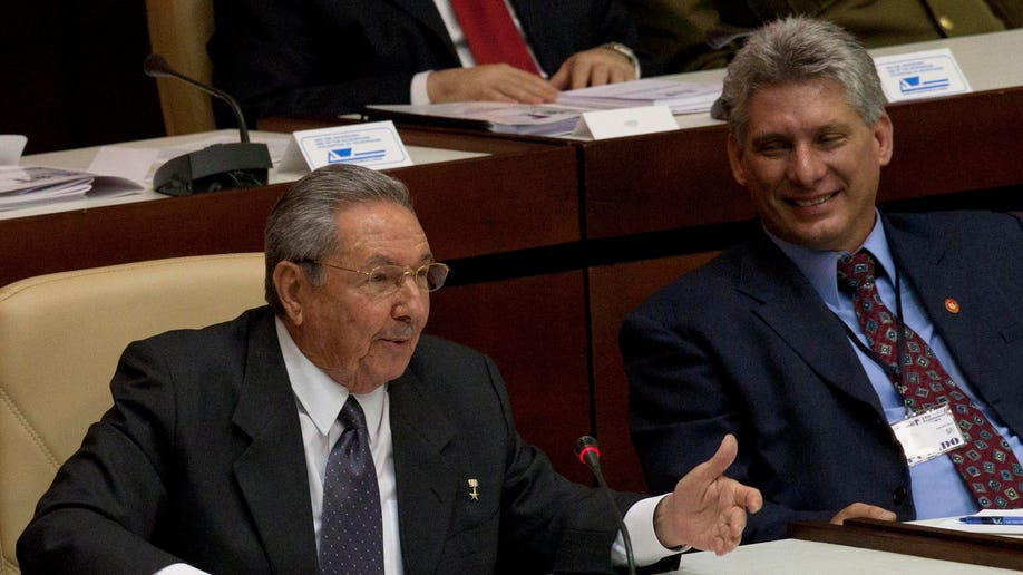 APTOPIX Cuba President