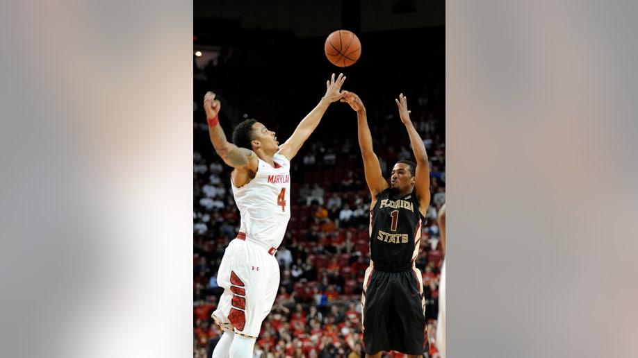Florida State Maryland Basketball