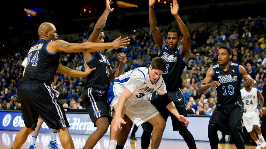 Creighton Tulsa Basketball