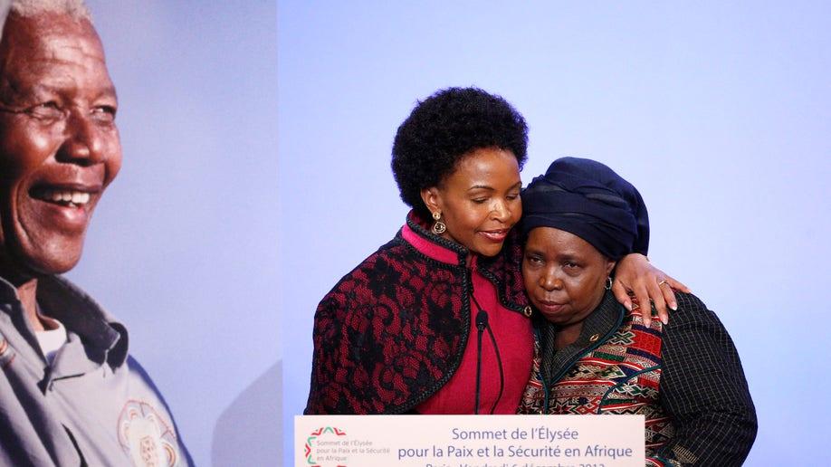 France Mandela Global Reax