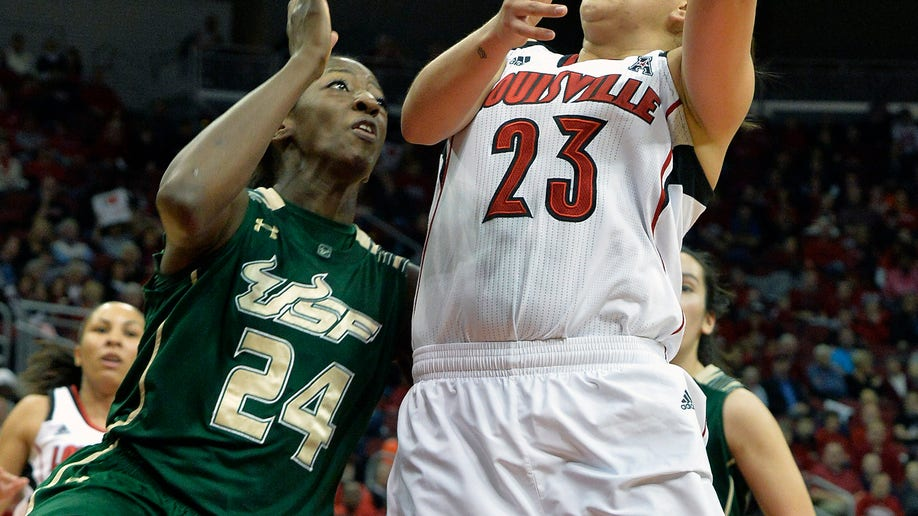 South Florida Louisville Basketball