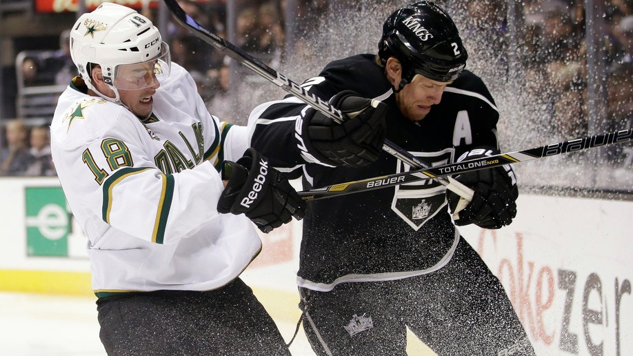 APTOPIX Stars Kings Hockey