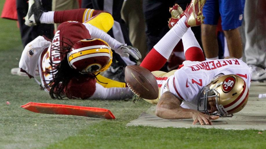 APTOPIX 49ers Redskins Football