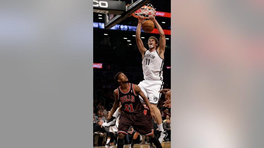 Bulls Nets Basketball