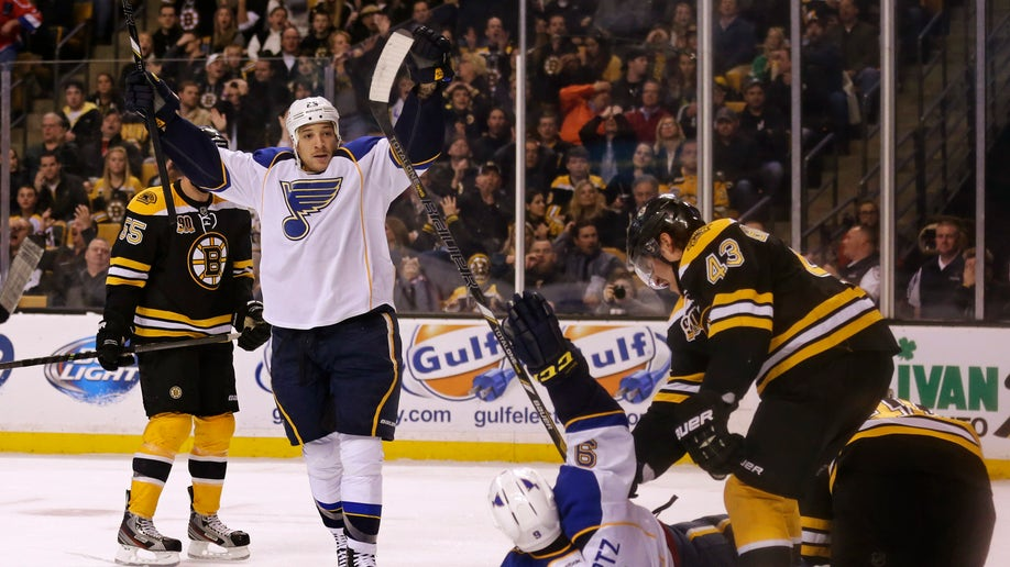 Blues Bruins Hockey