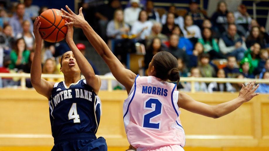83193554-Notre Dame Seton Hall Basketball