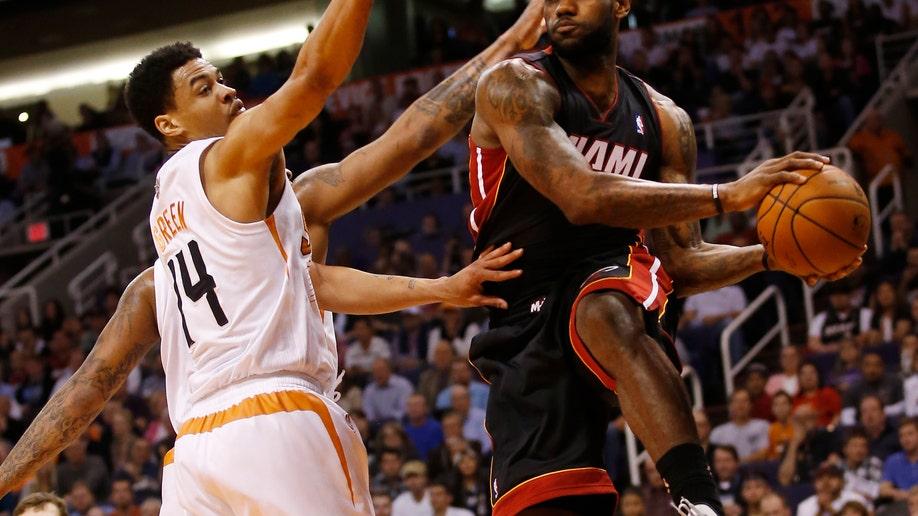 Heat Suns Basketball