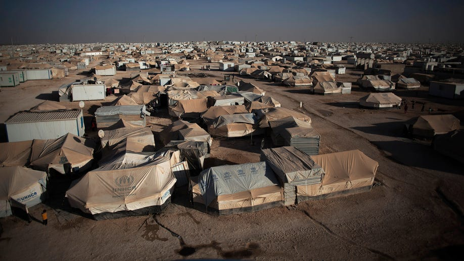Mideast Syrian Refugees Camp Life