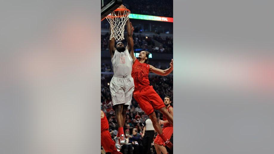 Rockets Bulls Basketball