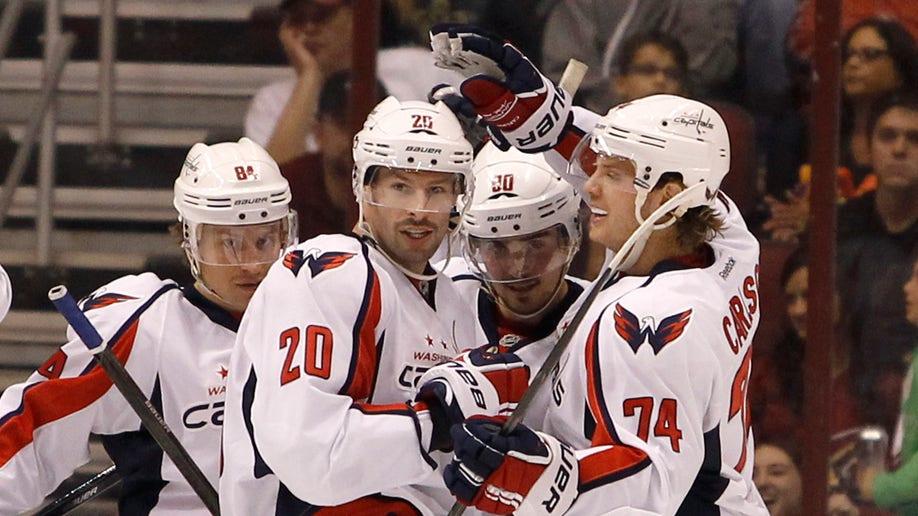 Capitals Coyotes Hockey