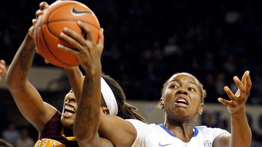 Central Michigan Kentucky Basketball