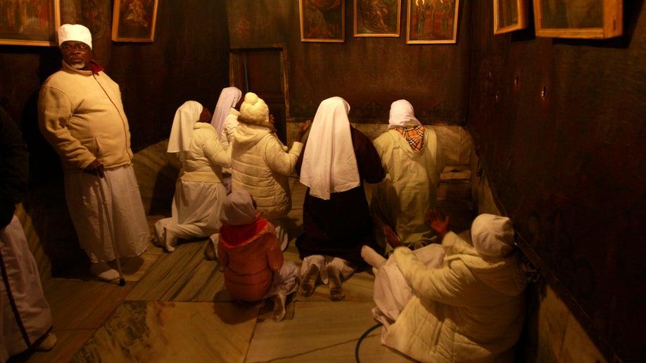 baa63188-Mideast Palestinians Christmas