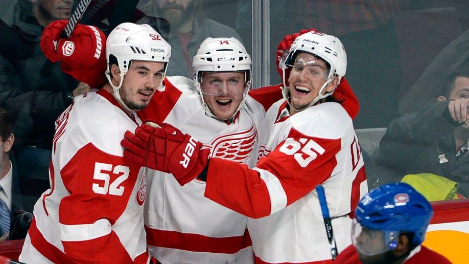 Red Wings Canadiens Hockey