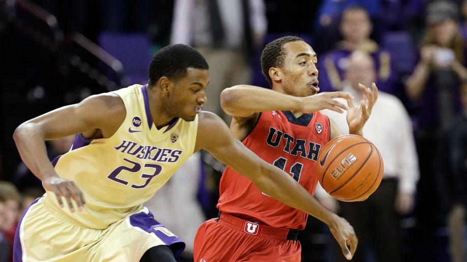 Utah Washington Basketball