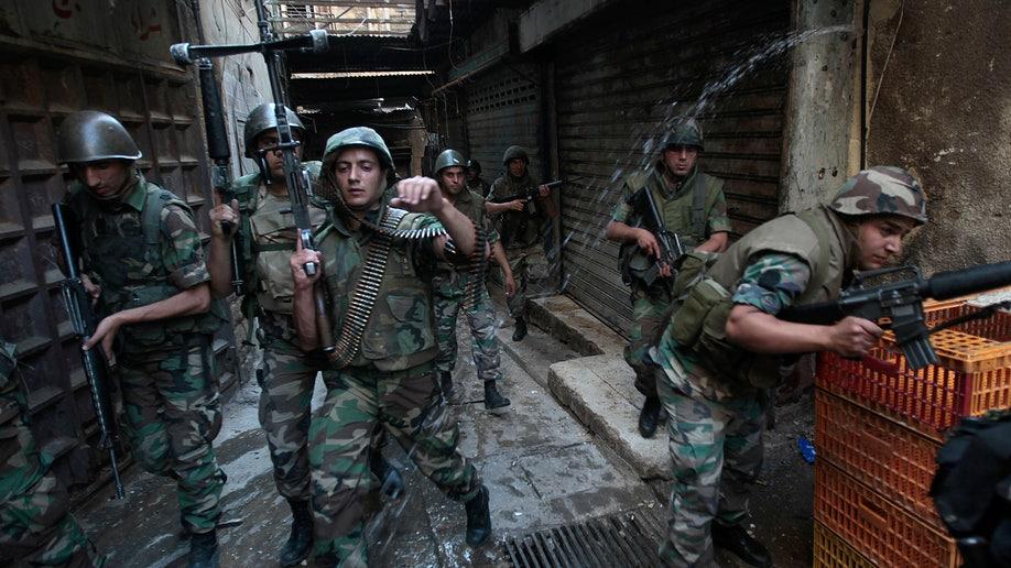 Mideast Lebanon Army