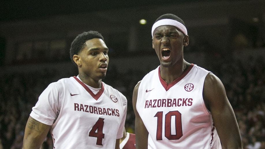 Alabama Arkansas Basketball