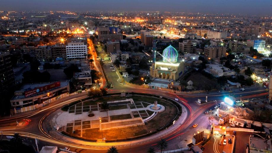 APTOPIX Mideast Iraq Fall of Baghdad