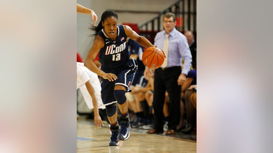 UConn St Johns Basketball