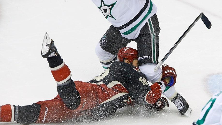 Stars Coyotes Hockey