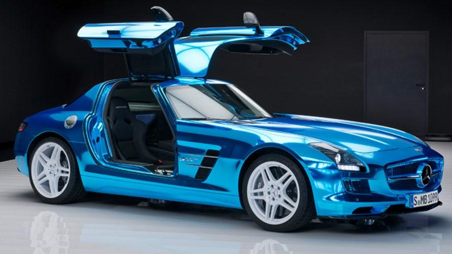b6768b8a-Mercedes Benz SLS AMG Electric Drive; (BR 197); Paris 2012