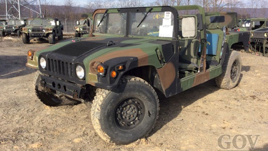 Military Surplus Auction >> Newest Surplus Military Humvee Yet Up For Auction Fox News