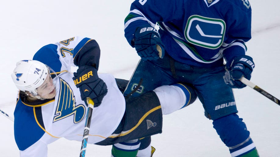 Blues Canucks Hockey
