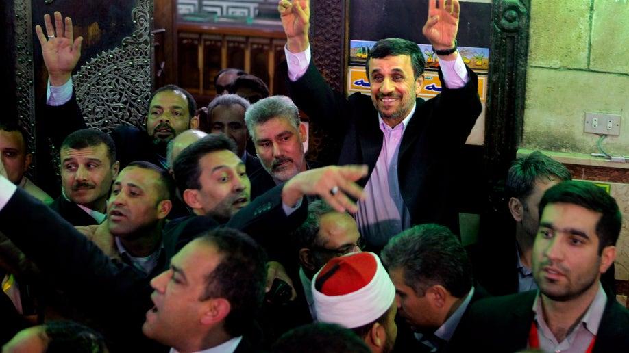 Mideast Egypt Iran