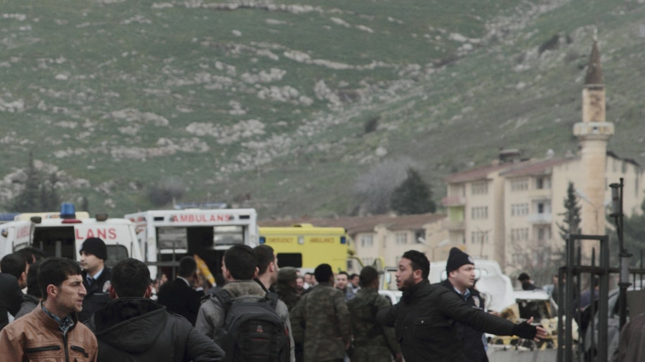 Turkey Syria Explosion