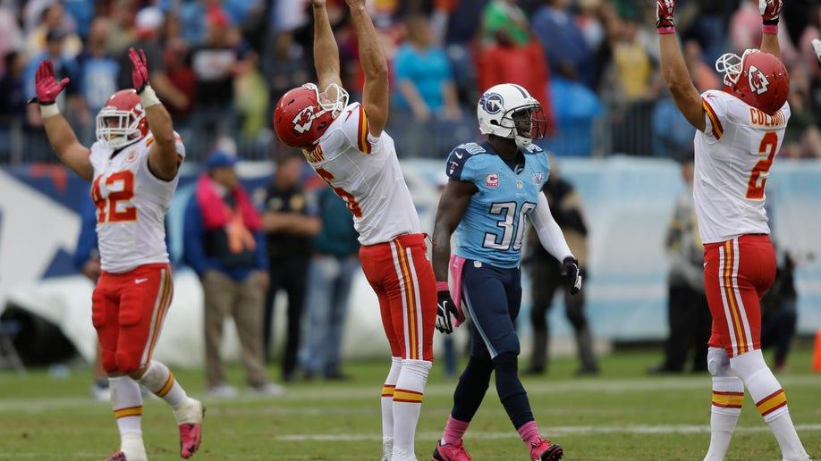 APTOPIX Chiefs Titans Football